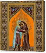 St. Francis And The Sultan - Rlsul Canvas Print