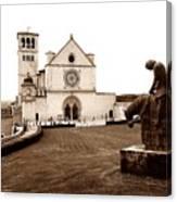 St. Francis Basilica, Assisi  Canvas Print