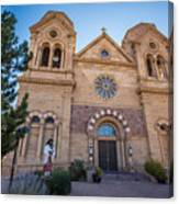 St. Francis Cathedral #2 Canvas Print
