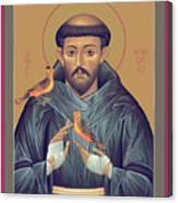 St. Francis Of Assisi - Rlfob Canvas Print