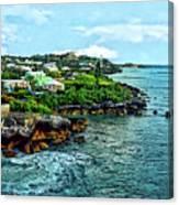 St. George Bermuda Shoreline Canvas Print