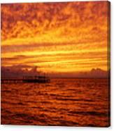 St. George Island Sunset Canvas Print