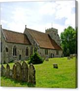 St George's Church At Arreton Canvas Print