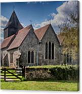 St James The Great Elmsted Canvas Print