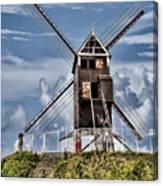 St. Janshuis Windmill Canvas Print