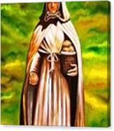 St Jeanne Jugan Of France Canvas Print