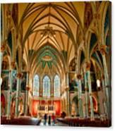 St John The Baptist Catholic Cathedral - Savannah Canvas Print