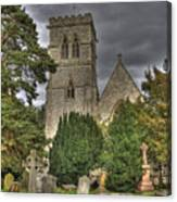 St John The Evangalist Stanmore Canvas Print