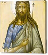 St John The Forerunner Canvas Print