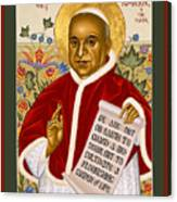 St. John Xxiii - Rlpjn Canvas Print