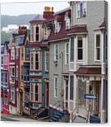 St Johns In Newfoundland Canvas Print