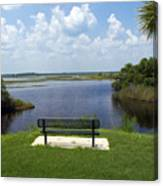 St Johns River In Florida Canvas Print
