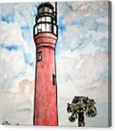 St Johns River Lighthouse Florida Canvas Print