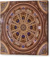 St. Josaphat Basilica Ceiling Canvas Print