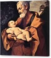 St Joseph Canvas Print