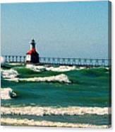 St. Joseph River Lighthouse Canvas Print