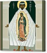 St. Juan Diego And The Miracle Of Guadalupe - Rljdm Canvas Print