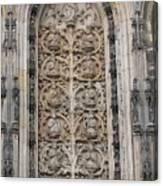 St. Lamberti Church - Stone Relief Canvas Print