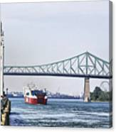 St Lawrence And Laronde Canvas Print