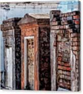 St. Louis 1 Tombs--nola Canvas Print