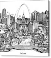 St. Louis 4 Canvas Print