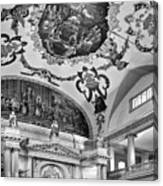 St. Louis Cathedral 2 Monochrome Canvas Print