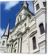 St. Louis Cathedral In The Afternoon Canvas Print