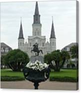 St. Louis Cathedral New Orleans Canvas Print