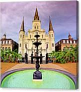 St. Louis Cathedral - New Orleans - Louisiana Canvas Print