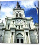 St. Louis Cathedral - Nola- Art Canvas Print
