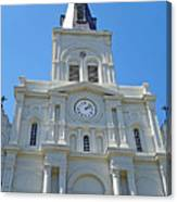 St. Louis Cathedral Study 1 Canvas Print
