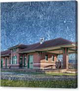 St Louis Iron Mountain Depot Canvas Print
