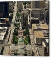 St. Louis Overview Canvas Print