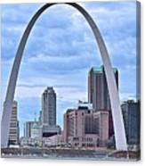 St Louis Panoramic View Canvas Print