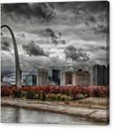 St Louis Riverfront Canvas Print