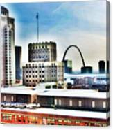 St Louis Skyline Canvas Print