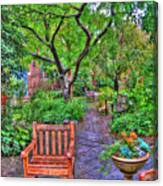 St. Luke Garden Sanctuary Canvas Print