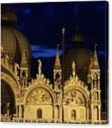 St. Mark's Basilica at Sunrise Canvas Print