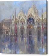 St Mark's -venice Canvas Print