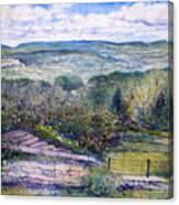 St Martin De Castillon Luberon France 2004  Canvas Print