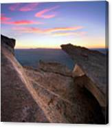 St Mary Peak Sunrise Canvas Print