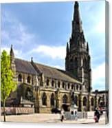 St Mary's Church At Lichfield Canvas Print