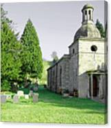 St Mary's Church At Mapleton Canvas Print