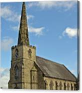 St Mary's Church - Coton In The Elms Canvas Print
