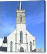 St. Marys Church Killybegs Canvas Print