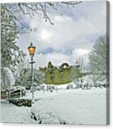 St Mary's Churchyard - Tutbury Canvas Print