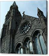 St. Mary's Of The Rosary Catholic Church Canvas Print