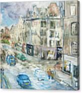 St. Mary's Street Canvas Print