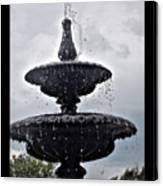 St. Mary's Water Fountain Canvas Print