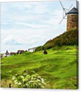 St Monans Windmill Canvas Print